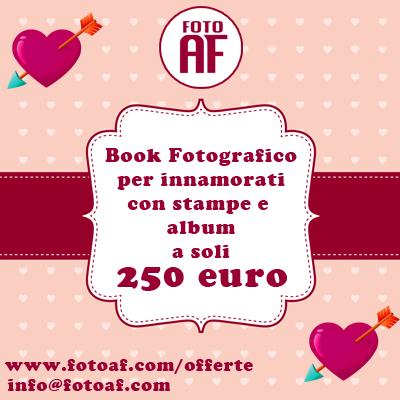 Offerta Book Fotografico di Coppia San Valentino 2014