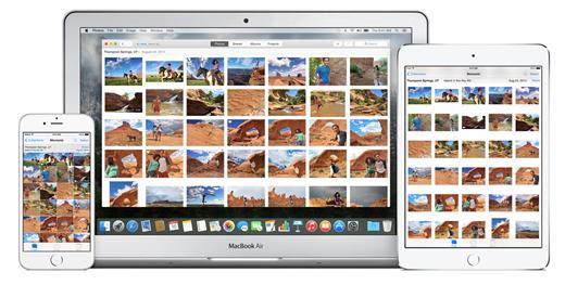 Foto sbarca sul Mac con Yosemite 10.10.3
